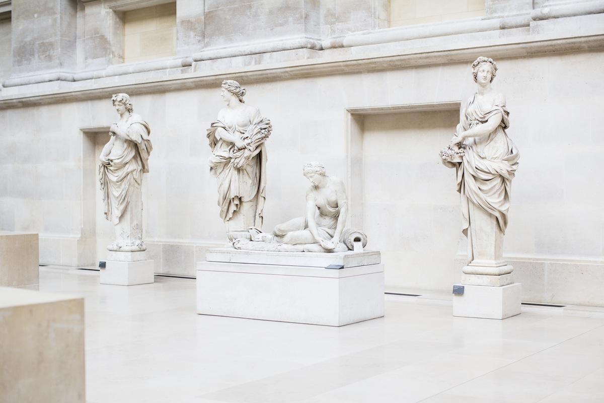 Sculptures du musée du Louvres