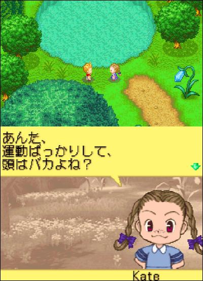 Harvest Moon DS oubli de traduction