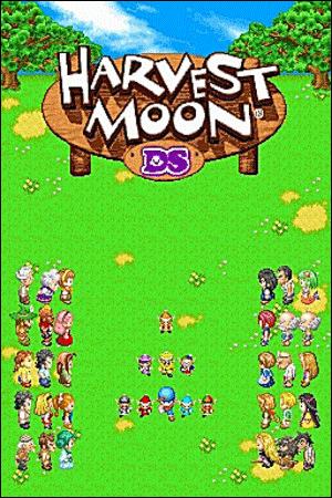 Harvest Moon DS, un jeu de gestion de ferme
