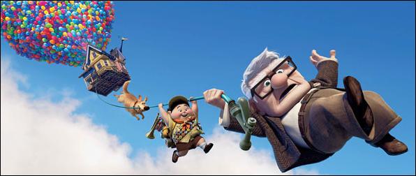 Affiche du film de Pixar : Là Haut