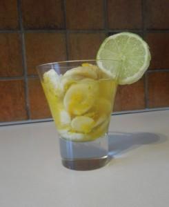 salades bananes citrons verts