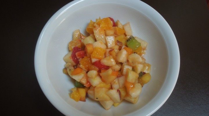 Salades de fruits estivales