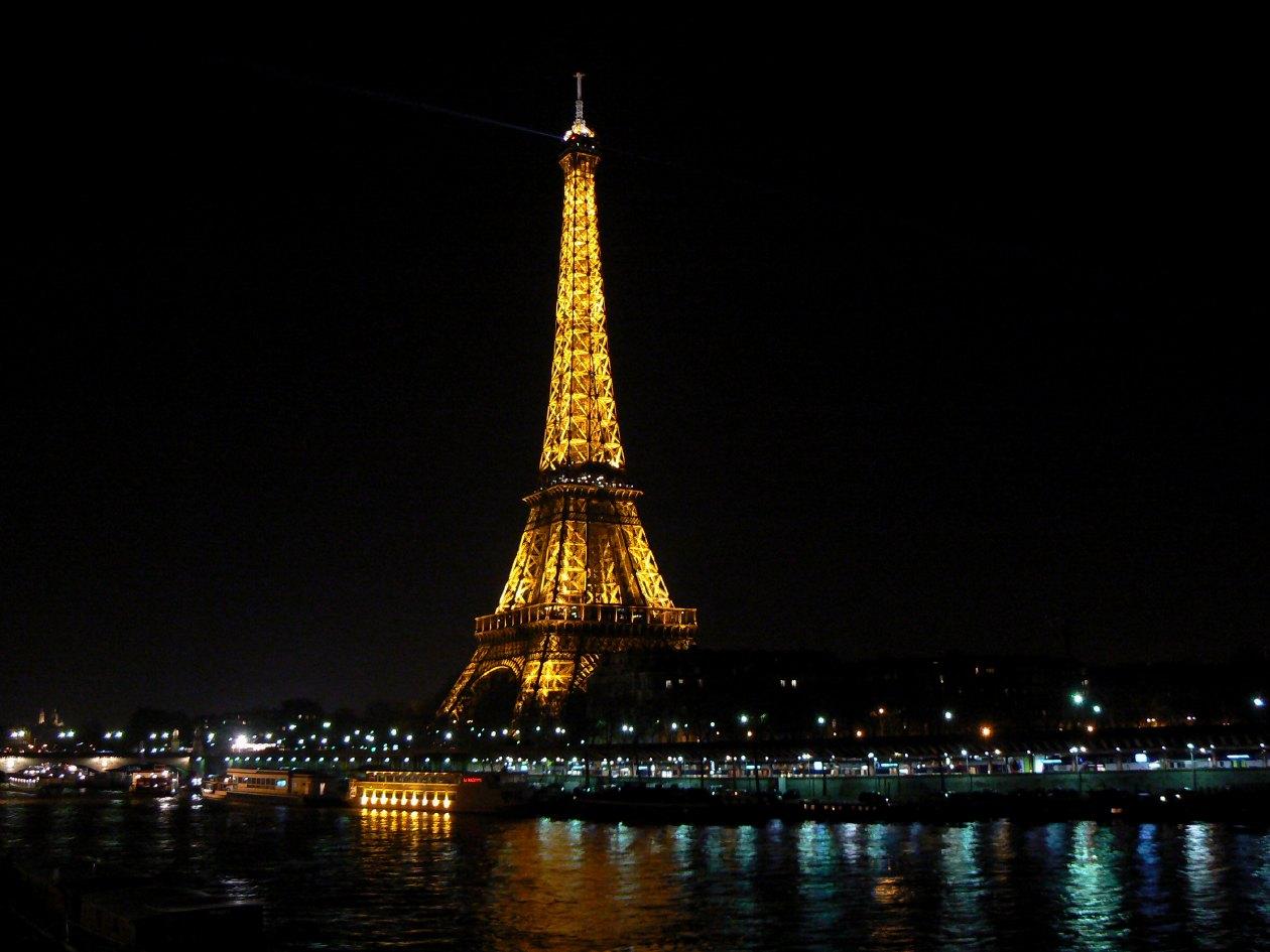 Les éclairages de la tour Eiffel