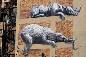 Roa est un artiste de rue