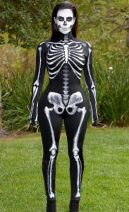 Kim Kardashian squelette