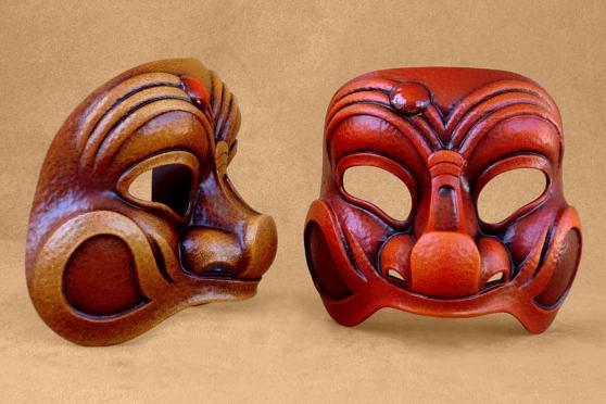 Il existe plusieurs sortes de masques de Venise