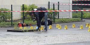 echanges de coup de feu à Saint Ouen