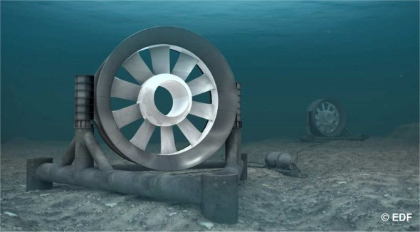 L'hydroélectricité est produite grâce aux hydroliennes au Québec