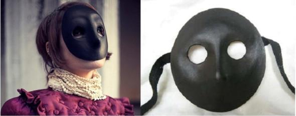 On peut retrouver des masques vénitiens à Venise