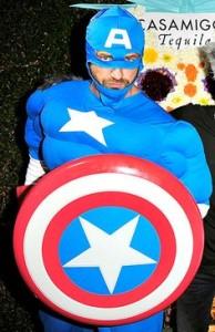 Gerard Butler en Captain America