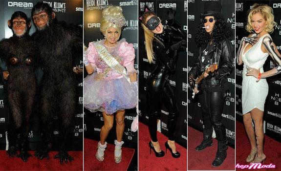 Top des costumes d'Halloween portés par les stars
