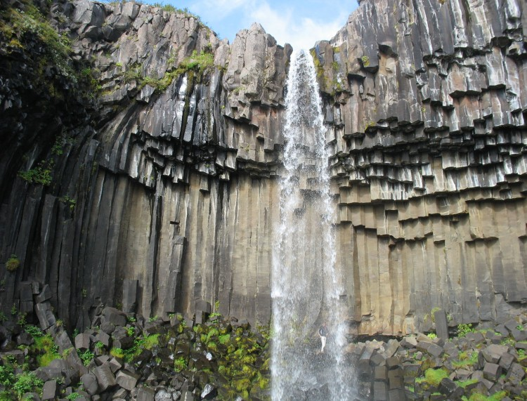 La roche basaltique