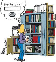 recherche de documents pour le mémoire
