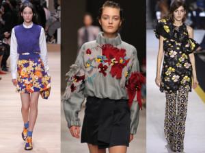 L'imprimé fleuri à la mode en 2015-2016