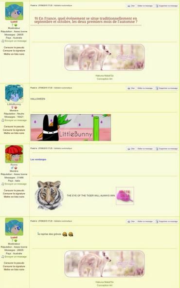 Quizz Luinil et les réponses drôles