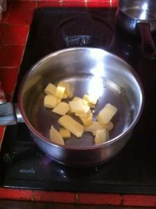 Recette chouquettes beurre et eau