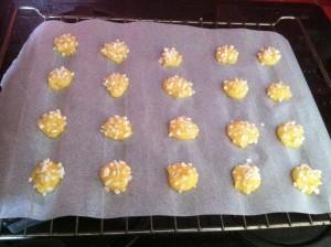 Recette chouquettes plaque avec sucre cru