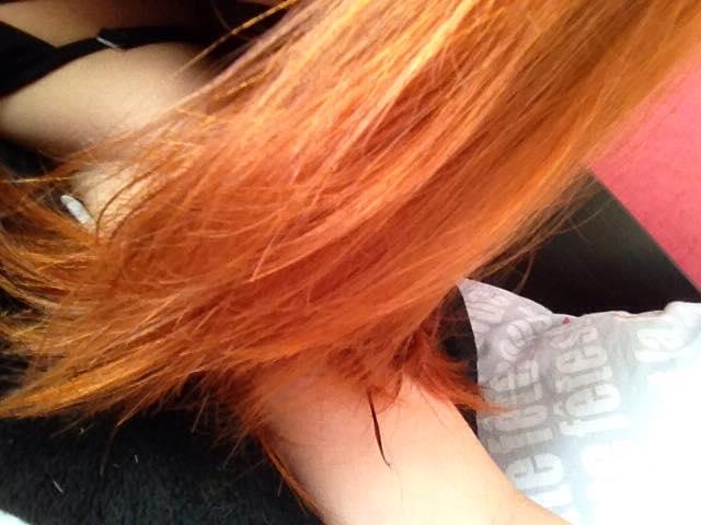 cheveux après henné