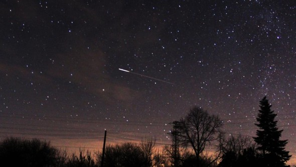 Pluie d'étoiles en décembre