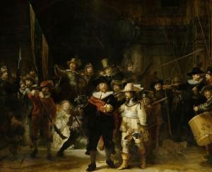 La ronde de nuit Rembrandt