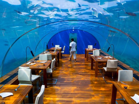 Restaurants insolites dans le monde