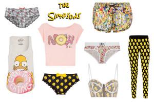 vêtements et sous vêtements Simspon