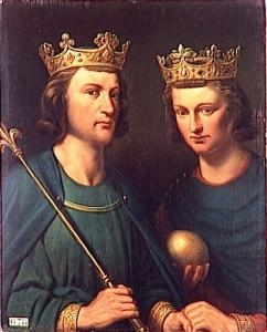 Louis III et Carlotan Ier