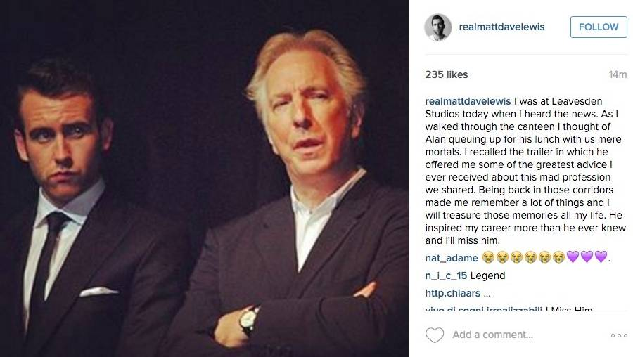 Hommage à Alan Rickman, l'interprète de Rogue