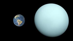 comparaison Terre et neuvième planète possible du système solaire