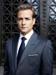 Harvey Specter dans Suits, avocats sur mesure