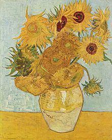 Les Tournesols de Van Gogh