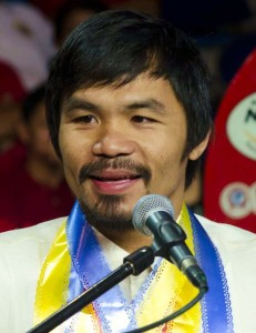 Manny Pacquiao, boxeur Philippines
