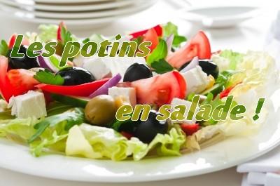 Les potins en salade !