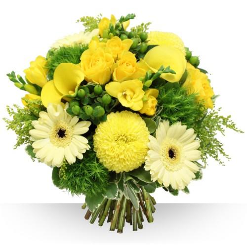 bouquet de fleurs jaunes 6
