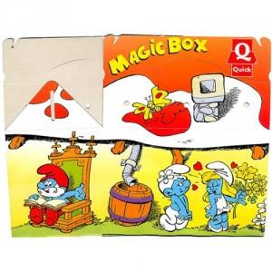 Magic Box avec des Schtroumpfs de 1996