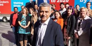 Sadiq Khan le nouveau maire de Londres