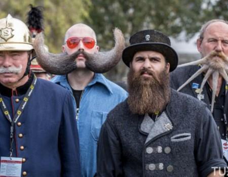 Le concours de barbes et de moustaches