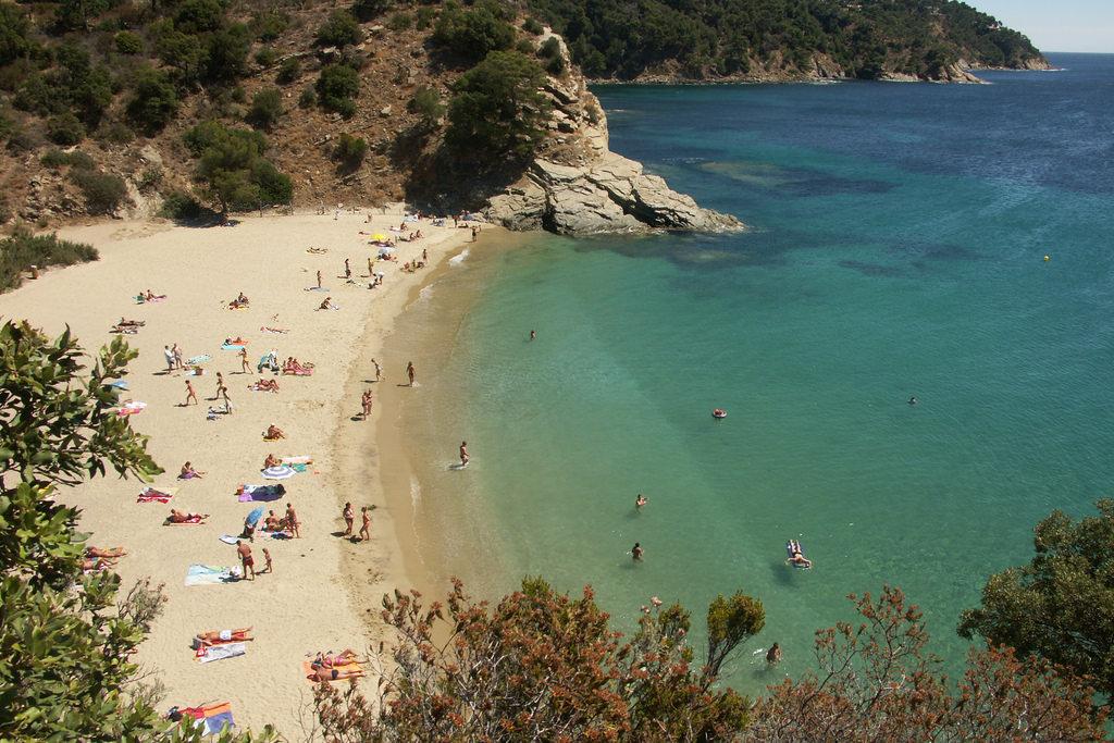 Côte d'Azur, touristes