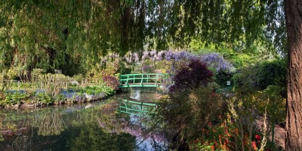Le jardin d'eau de Monet
