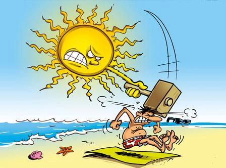 Les dangers liés au soleil