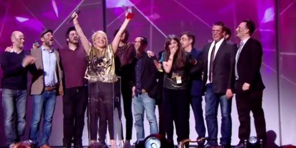 Hyphen Hyphen aux Victoires de la Musique 2016