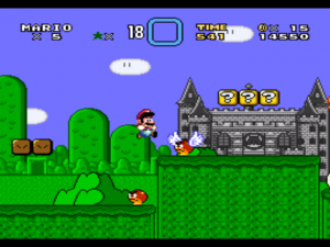 jeu nintendo super mario world
