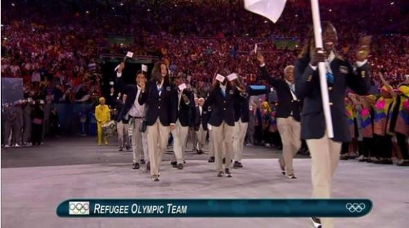 Délégation des réfugiés JO Rio 2016
