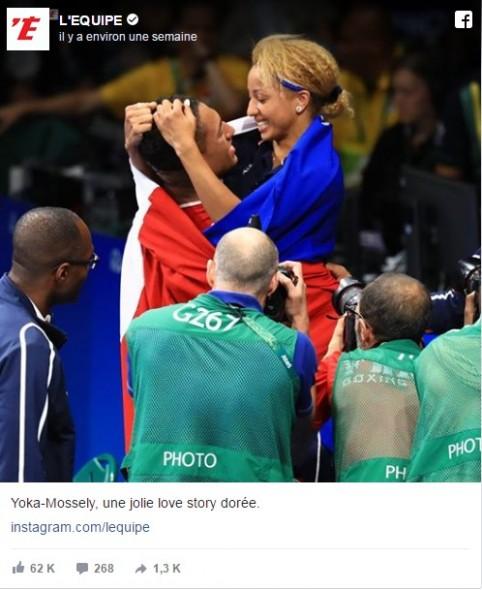 Tony Yoka et Estelle Mossely JO Rio 2016