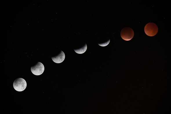 Lune éclispe