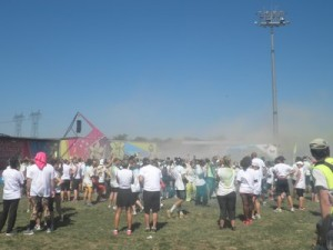 départ color obstacle rush