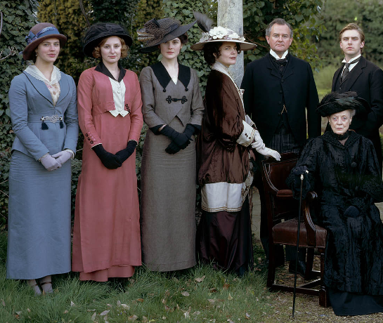 downton abbey famille crawley