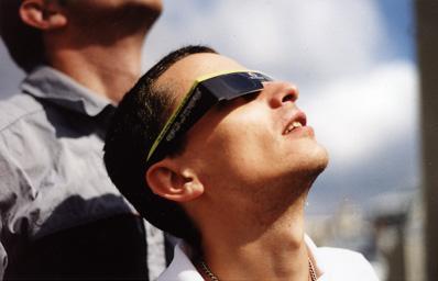 éclipse solaire lunettes