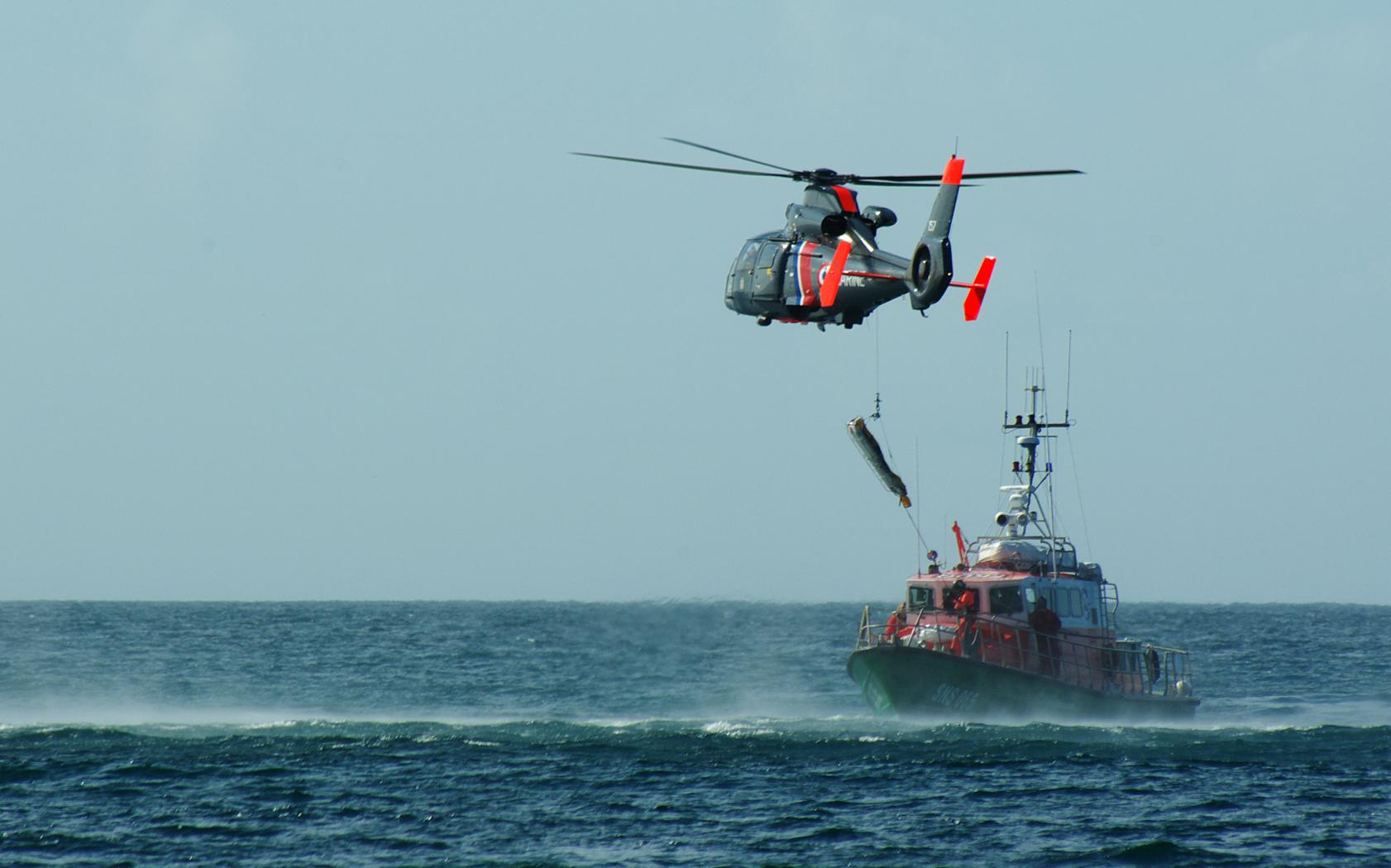 Hélicoptère, sauvetage