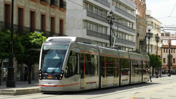 Une ligne de tramway